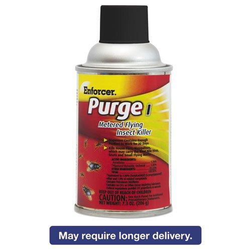 Enforcer - Purge I Metered Flying Insect Killer 73 Oz Aerosol Unscented 12Carton