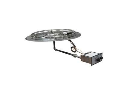 FPPK30 30in Flat Pan Manual SparkFlame Sensing Firepit Insert