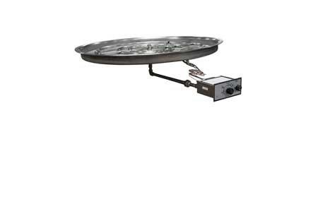FPPK37 37in Bowl Pan Manual SparkFlame Sensing Firepit Insert