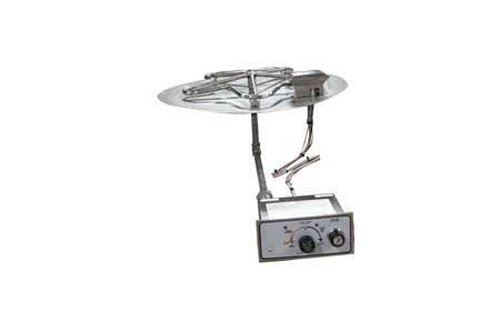 PENTA24FPPK 24in Flat Pan with Penta Burner Manual SparkFlame Sensing Firepit Insert