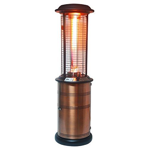 Lava Heat Italia Lhi-milano-36btu-bc-lp Patio Heater Milano Propane 36000 Btu Brushed Copper