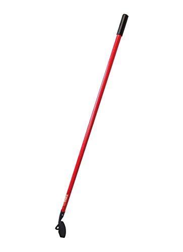 Bully Tools 92417 7-Gauge Curved Garden Hoe with Fiberglass Handle