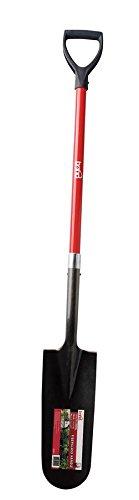 Bond LH025 Trenching Shovel with Fiberglass D Handle