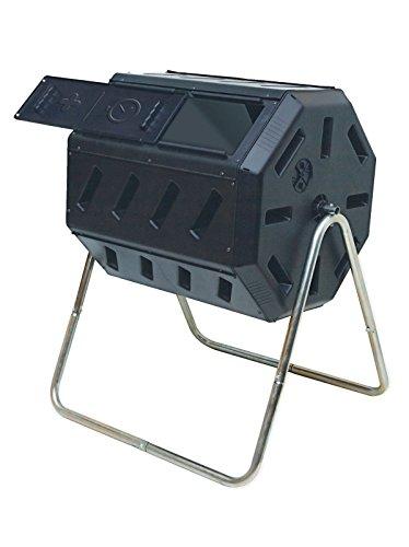 Yimby Tumbler Composter Color Black Yimby -WHG4832 TYG43498TY4-U658248