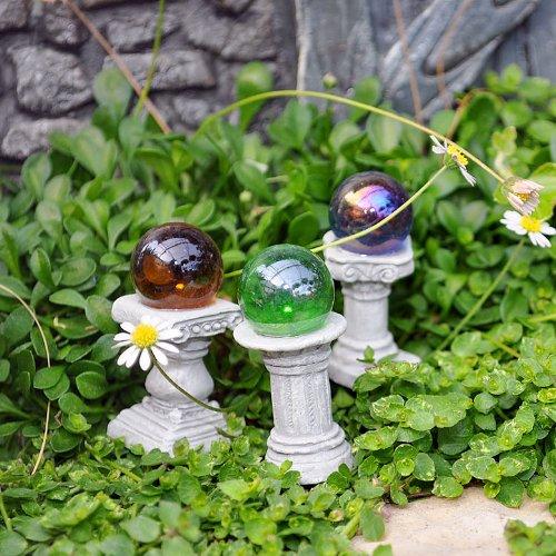 Fairy Garden Mini Gazing Globes Set Of 3