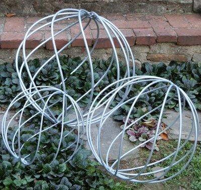 Large Metal Garden Sphere - 20 diameter - AMSL