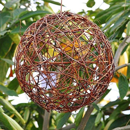 Miniature Fairy Garden Grapevine Fairy Sphere 10 Inch