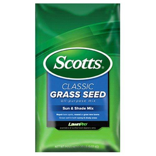 Scotts Company 17183 Classic Sun And Shade Mix Grass Seed 3-pound