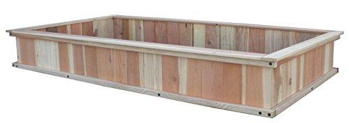 4X8 Garden Box Kit Redwood