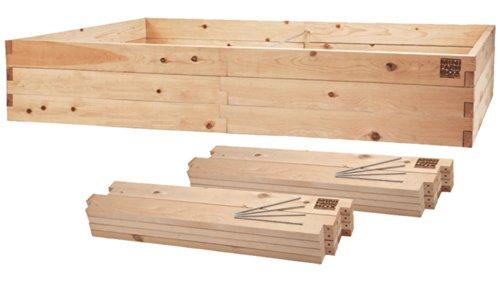 MinifarmBox 4x8x22 Raised Garden Bed Kit
