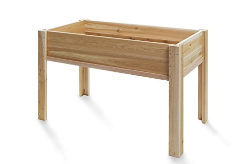 All Things Cedar Raised Garden Box with Legs 4