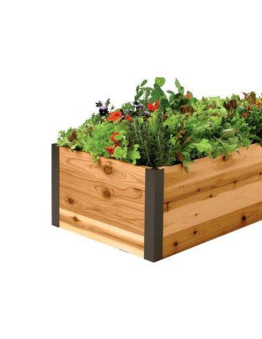 Cedar Raised Garden Bed 2 x 4 x 15