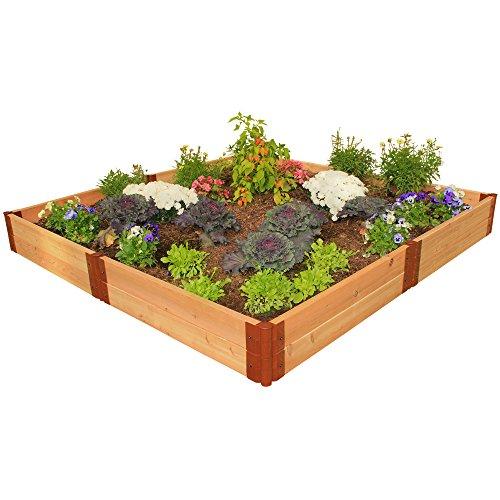 Frame It All Two Inch Series Cedar Raised Garden Bed Kit 8 x 8 x 12