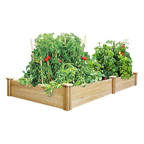 Greenes 4 Ft X 8 Ft X 105 In Cedar Raised Garden Bed