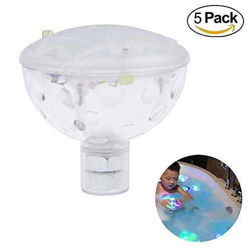 Honeyall 35&quot Float Rgb Color Changing Led Light Aqua Glow Kid Toy Waterproof In Tub Pond Pool Spa Swimming Bathtub