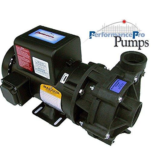PerformancePro Cascade 1 HP 6404 GPH Low RPM External Pond Pump with FREE Bonus Max Ponds Magnet Calendar C1