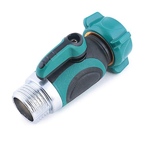 Garden Hose To Hose Shut Off Valve Arthritis Friendly Faucet Extension - Ergonomic Aesthetic And Highly Durable