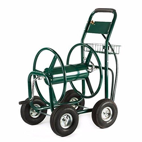 Generic YC-US2-151007-109 8&18881 BasketT Outdoor G Cart 300 FT Outdoor Green Water Garden Heavy Hose Reel Duty Yard w Basket Green Water