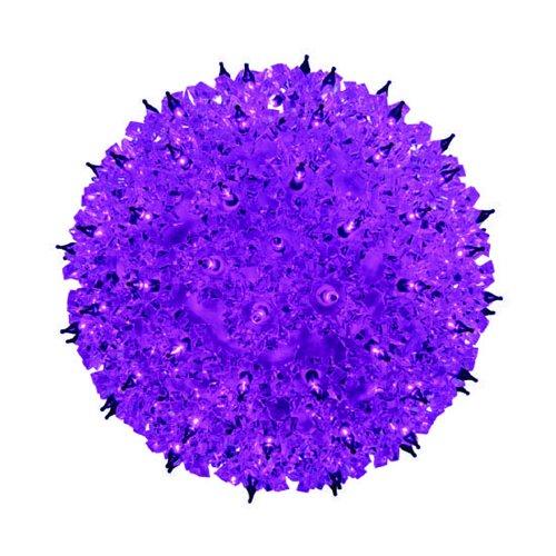 Bethlehem Lighting Indooroutdoor Mini Star Christmas Light Sphere 50   Purple