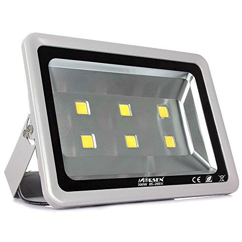 Morsen High Power 300W Led Floodlight Cool White Outdoor Spot Light Waterproof Security Light