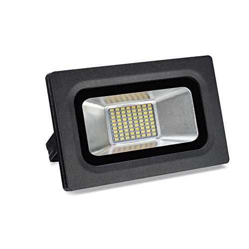 Solla 15W LED Flood Light Outdoor Super Bright Security LightsDaylight White 5500-6500K1125 LM72LEDsWaterproof Floodlight Landscape Spotlight Outdoor Wall Lights