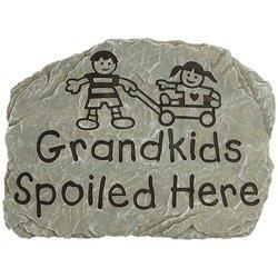 Carson Home Accents Grandkids Spoiled Here - Garden Stone
