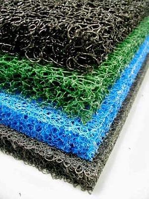 4 Sheets 4 Color Matala Pond Filter Mat Koi Media Pad 39&quot X 24&quot
