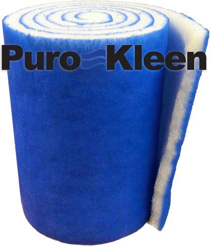 Puro-kleen&trade Kleen-guard Pondamp Aquarium Filter Media 12&quot X 72&quot Pack Of 2 12 Feet Total