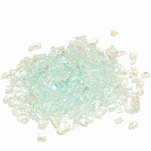 Peterson Real Fyre Clear Fire Glass - 40 Lbs