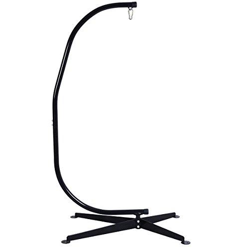 Giantex C Hammock Frame Stand Solid Steel Construction Hammock Air Porch Swing Chair