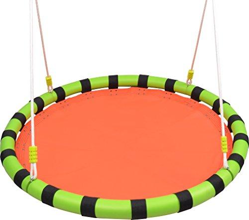 HappyPie 40 Tree Hanging Swing Outdoor and Indoor Playground Set Yellow