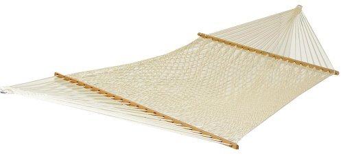 Generic Large Duracord Rope Hammock Oatmeal