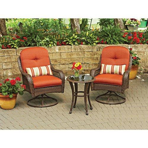 3-piece Outdoor Furniture Set Better Homes And Gardens Azalea Ridge 3-piece Outdoor Bistro Set Seats 2