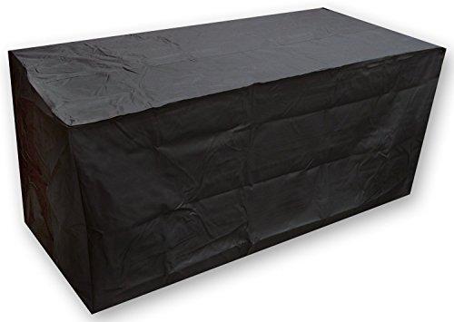 Ruichenxi Rectangle Table Cover Waterproof Outdoor Garden Furniture Black 155x115x65cm
