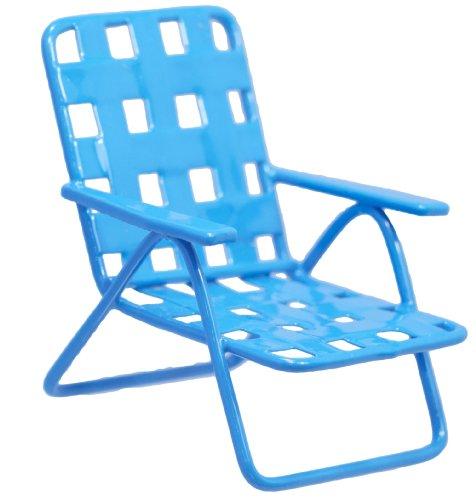 Fiddlehead Fairy Miniature Lawn Chair - Blue