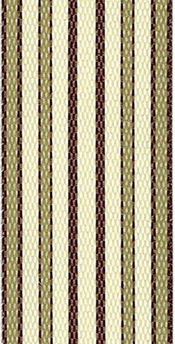 WebbingProTM Lawn Chair Webbing 2 14 Inches Wide 100 Feet Long Roll Tan Stripe