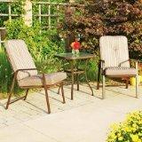 Mainstays Lawson Ridge 3-piece Outdoor Patio Bistro Furniture Set Seats 2 tan