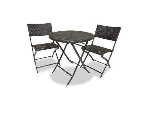 Rst Brands Bistro Patio Furniture 3-piece