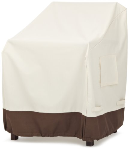 Amazonbasics Dining Arm Chair Patio Cover set Of 2