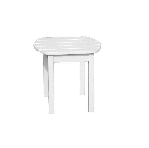International Concepts T-51900 Adirondack Sidetable White