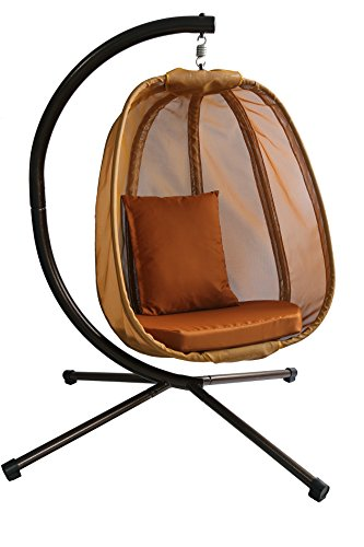 Flowerhouse Hanging Egg Chair Brown