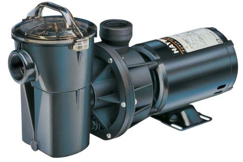 Hayward Sp1780 Power-flo Ii 1-horsepower Above-ground Pool Pump With Strainer