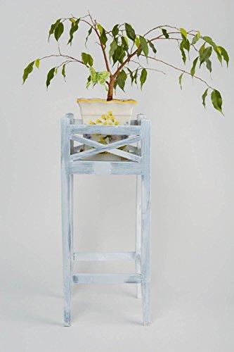 Beautiful Handmade Decorative White Pine Wood Plant Pot Holder Interior Design