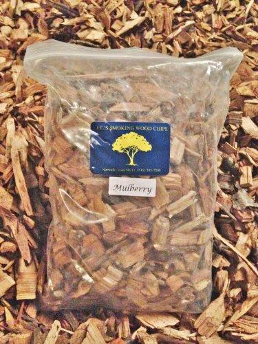 Jcs Smoking Wood Chips - 210 Cu Inch Gal Bag - Mulberry