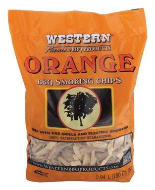 Western Orange Wood Smoking Chips 2-14 lb-Mfg 28069 - Sold As 8 Units