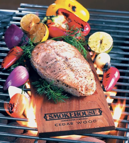 Smokehouse Products Cedar Flavored Natural Grilling Plank 3-pack