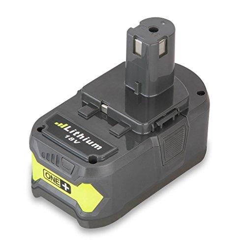 Battery for Ryobi Didihou One Plus P108 18V Lithium Battery for Ryobi P104 P105 P102 P103 P107 50AH