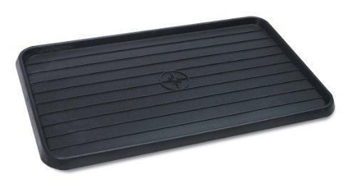 "Wirthco 40098 Multi-use Mat Boot Tray - Black 15"" X 25"" X .75"""
