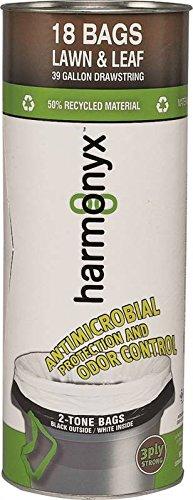 Aluf Plastics 39110010 Harmonyx Coex Metalocene Blend Lawn And Leaf 3-ply Trash Bag With Microban Antimicrobial
