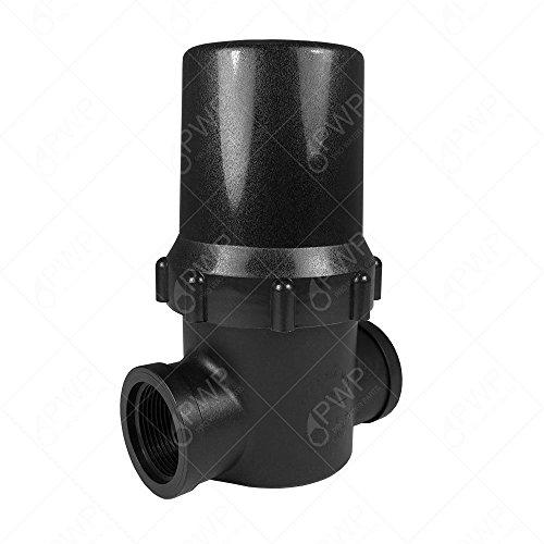 Inline T Screen Water Filter 80 Mesh 1 12&quot Npt Hydroponic Irrigation Gardening Pump